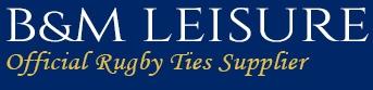 International & Club Rugby Ties - Buy online now